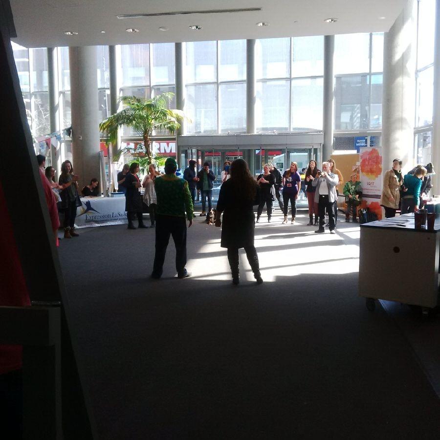 Symposium pour la semaine internationale de thérapie par les arts